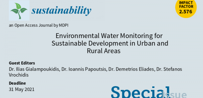 Environmental Water Monitoring for Sustainable Development  in Urban and Rural areas